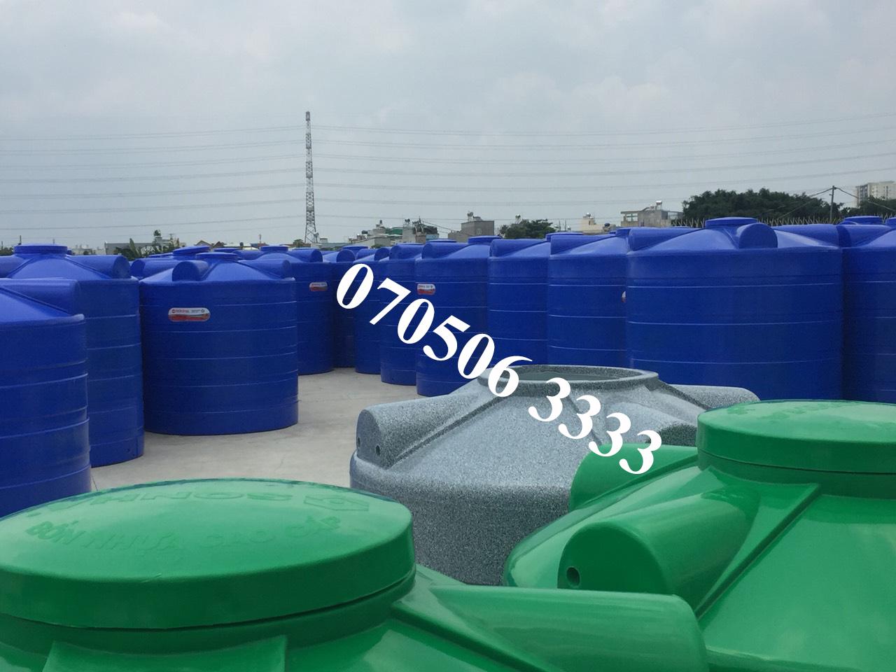 Mẫu bồn nhựa Đại Thành được bán trên thị trường hiện nay