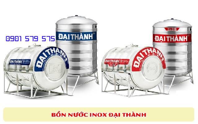 Giá bồn nước phụ thuộc vào kiểu dáng và dung tích sản phẩm