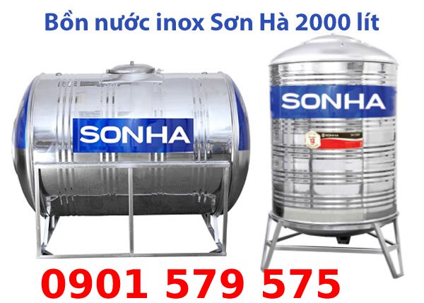 Giới thiệu Bồn nước Sơn Hà 2000l