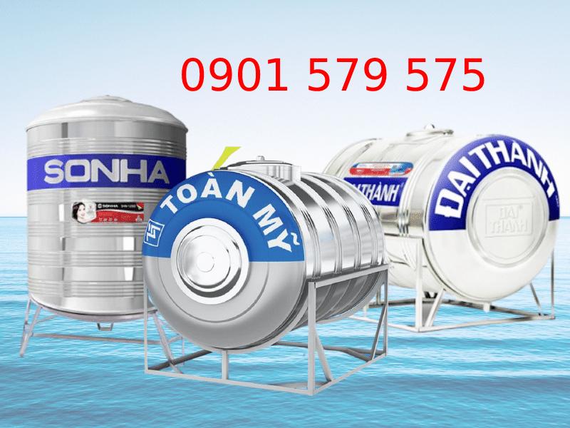 Một số loại téc nước thường được sử dụng
