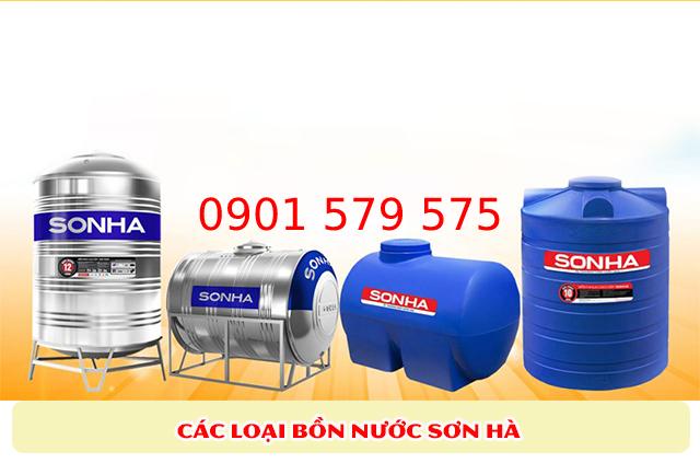 Giá các loại bồn nước Sơn Hà
