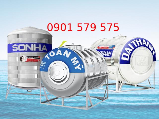 Các thương hiệu bồn nước inox phổ biến
