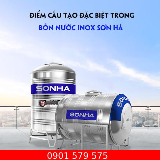 Hình ảnh bồn nước inox Sơn Hà
