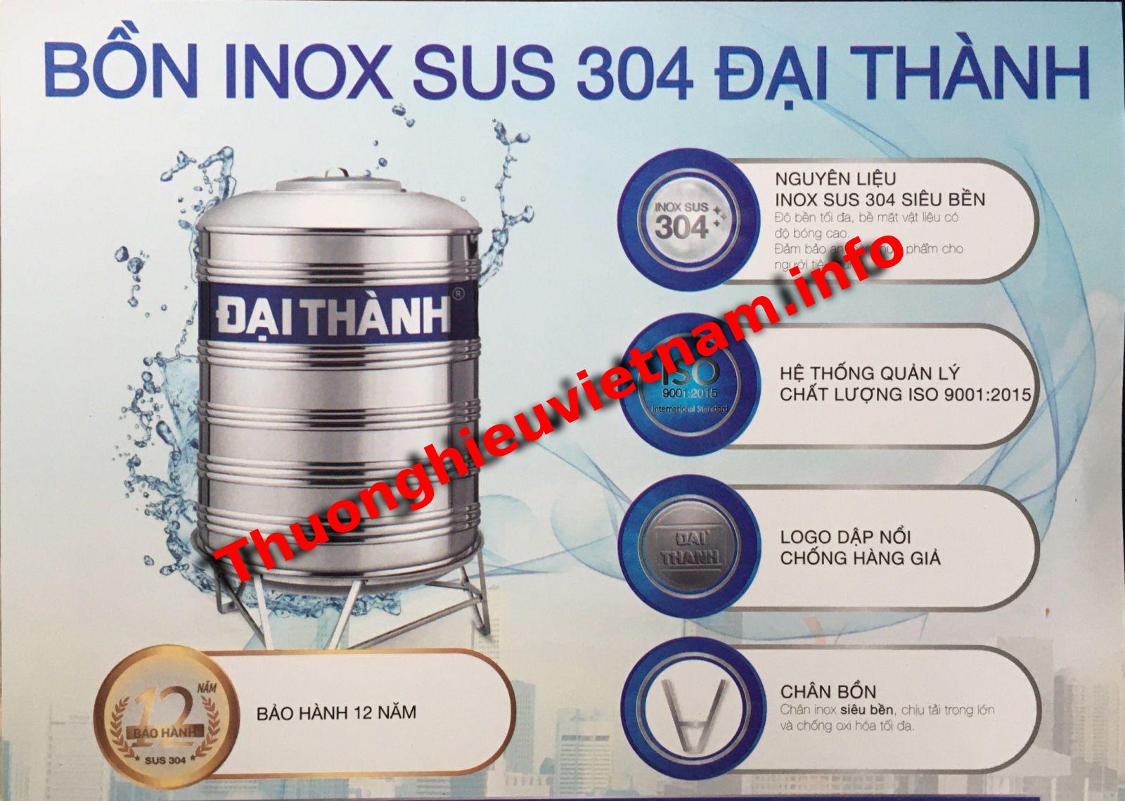Sản phẩm bồn nước Tân Á Đại Thành 1000 lít