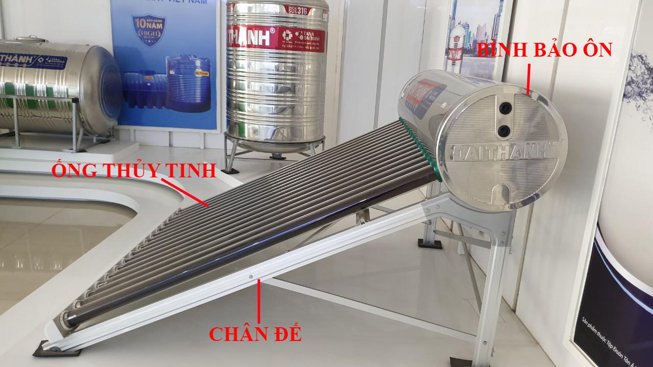 Máy năng lương mặt trời Đại Thành dễ dàng lắp đặt
