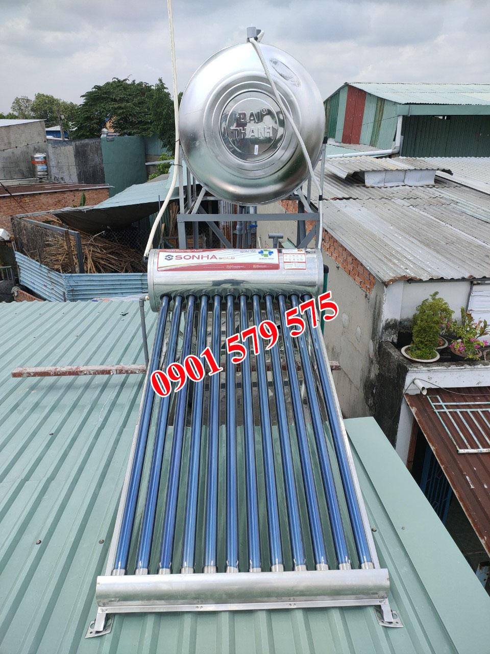 Độ bền của máy nước nóng năng lượng mặt trời Sơn Hà cao
