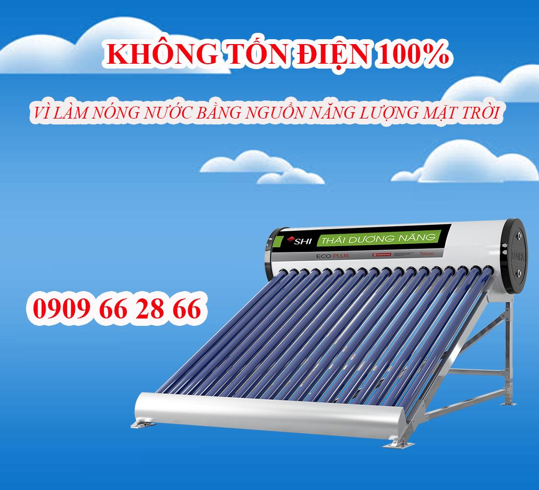 Ưu điểm khi sử dụng máy năng lượng mặt trời Sơn Hà