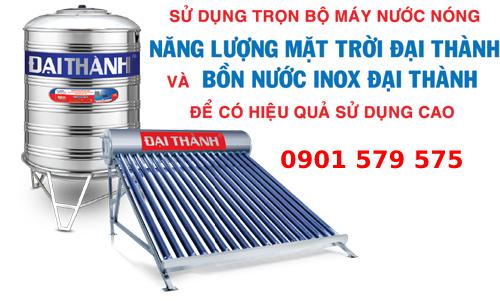 Lợi ích sử dụng bình nước nóng năng lượng mặt trời Đại Thành