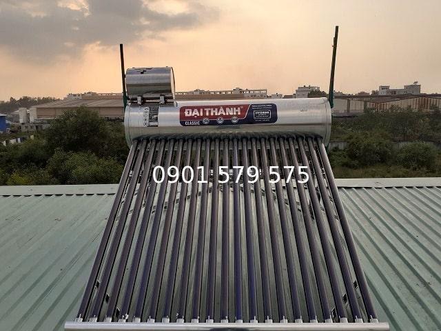 Bồn nước nóng năng lượng mặt trời Đại Thành phù hợp với nhiều công trình