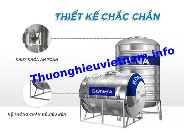 Nên mua bồn nước Sơn Hà 2000l