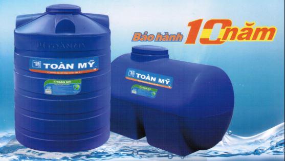 Bồn nước nhựa chính hãng Toàn Mỹ