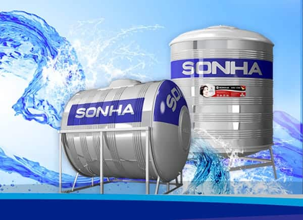 Giá bồn nước inox Sơn Hà