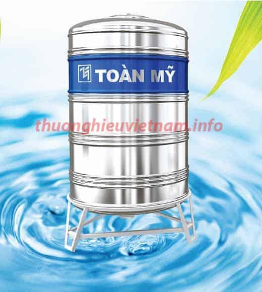 Bồn inox Toàn Mỹ là bồn chứa nước được khá nhiều người ưa chuộng sử dụng