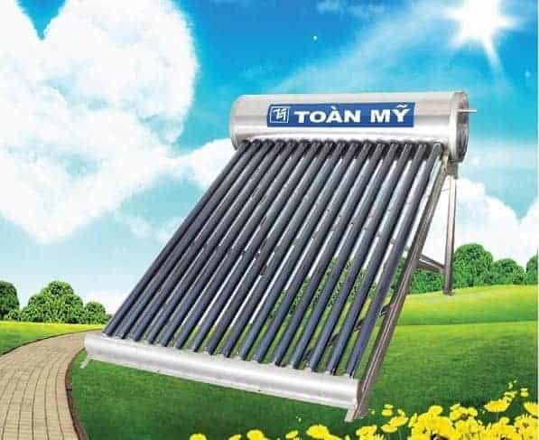 Máy nước nóng năng lượng mặt trời Toàn Mỹ chất lượng