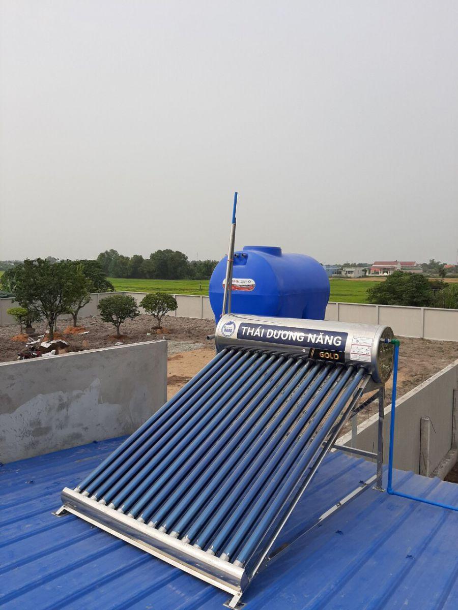 Máy nước nóng năng lượng mặt trời Thái Dương Năng gold